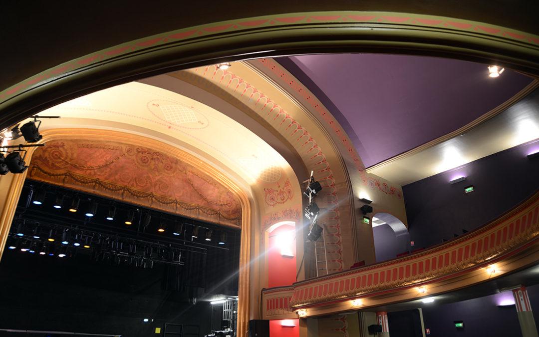 Demande de labellisation du théâtre auprès de la région