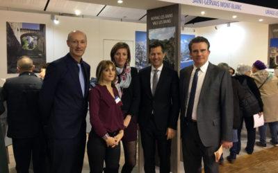 Les Thermalies 2018 – Les stations thermales ardéchoises présentées à Paris