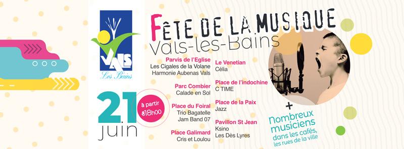 Fête de la Musique à Vals-les-Bains