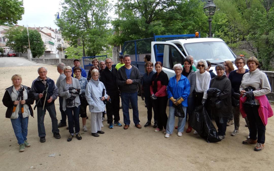 Plus de 40 participants à la journée de l'environnement 2018