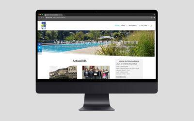 Vals-les-Bains lance la nouvelle version de son site Internet