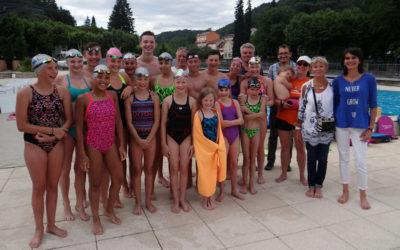 17 compétiteurs belges en stage de préparation à Vals-les-Bains