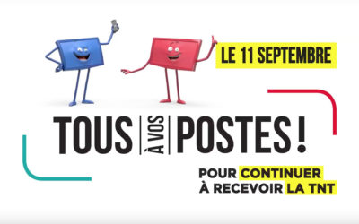 Le 11 septembre 2018, les fréquences de la TNT changent pour Rhône-Alpes