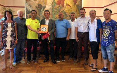 Sport boules : Pacte d'amitié entre la ville chinoise de Quzhou et Vals-les-Bains