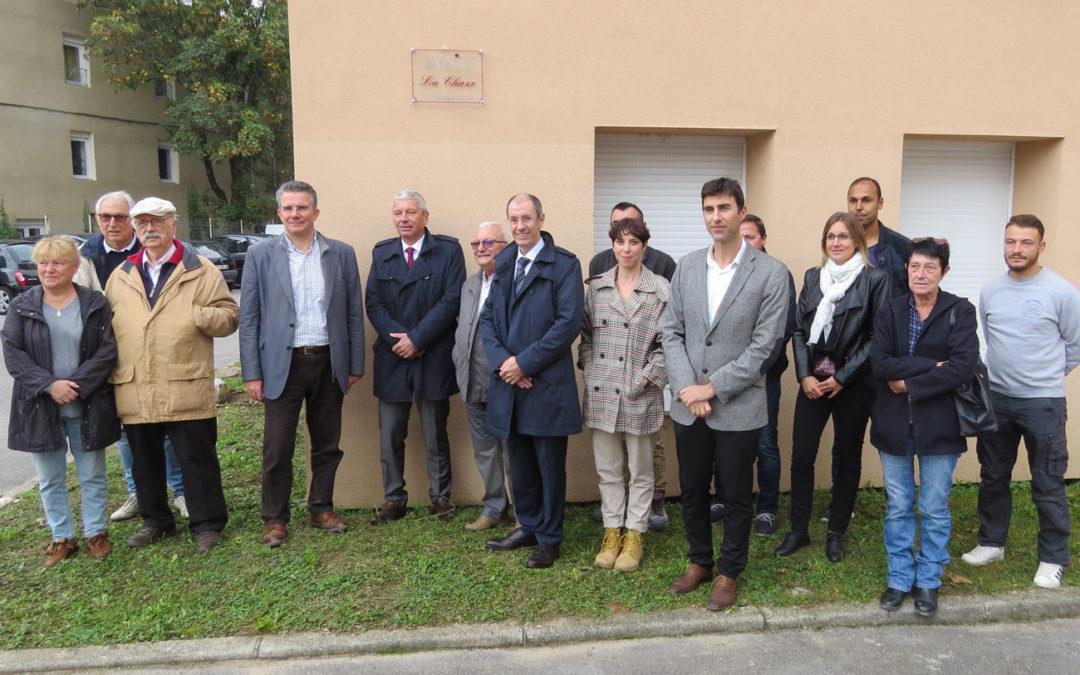 Inauguration de la réhabilitation de la résidence de La Chaze