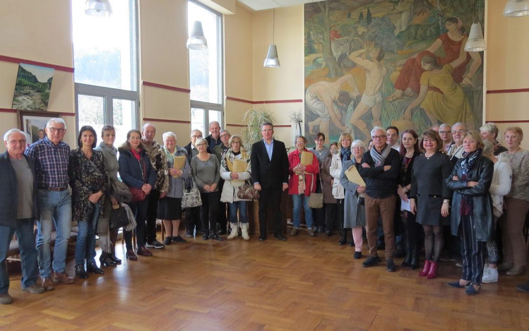 Accueil des nouveaux Valsois en Mairie de Vals-les-Bains