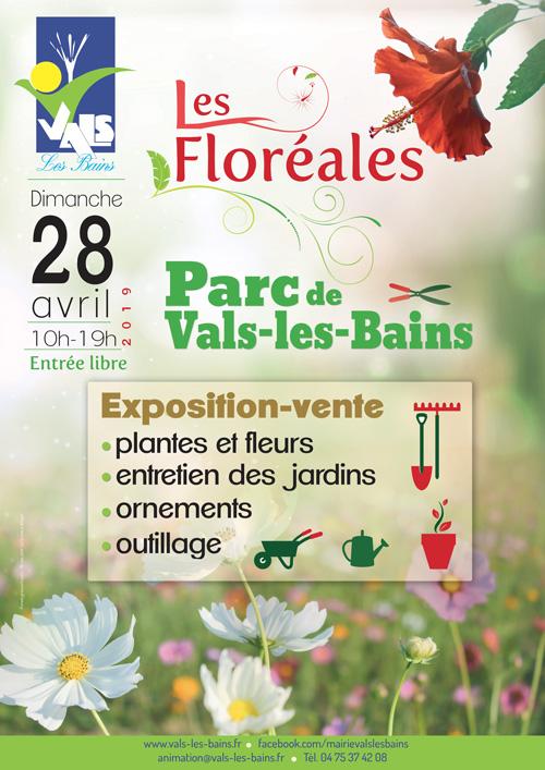 Affiche Floreales 2019