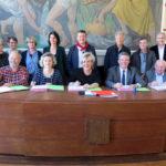 Signature de la convention FISAC