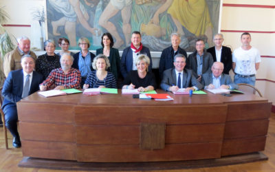 Signature de la convention FISAC