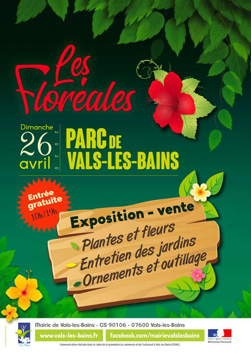 Affiche Floreales 2020