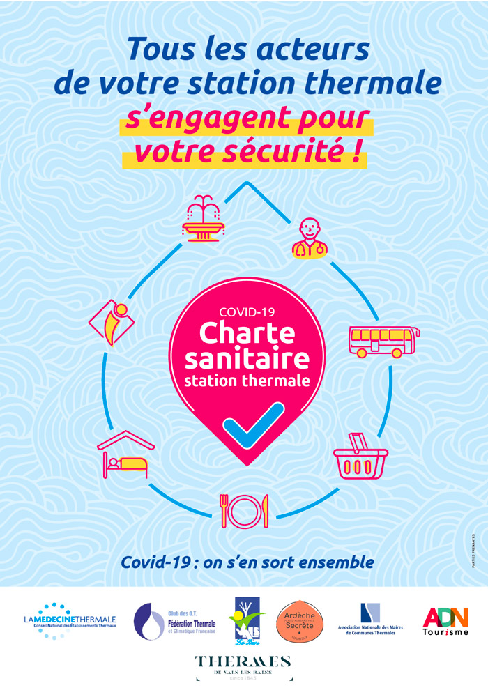 Charte sanitaire station thermale