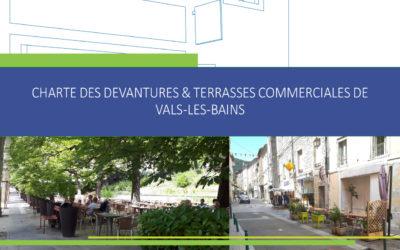 Elaboration d'une charte des devantures et des terrasses commerciales