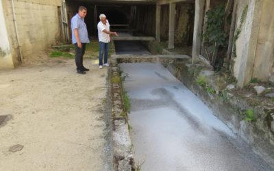 Travaux d'étanchéité au Canal Combier