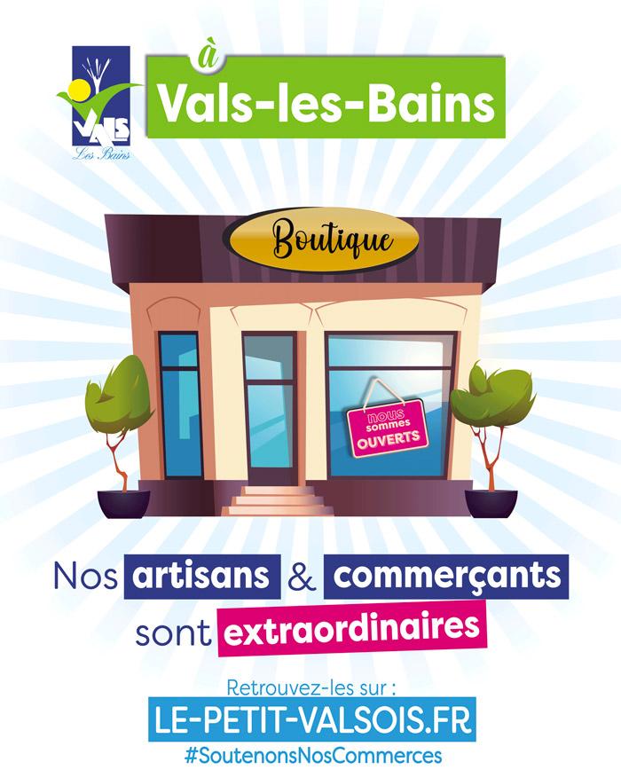 Commerces Vals-les-Bains