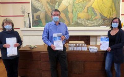 Remise des masques de protection aux écoliers valsois
