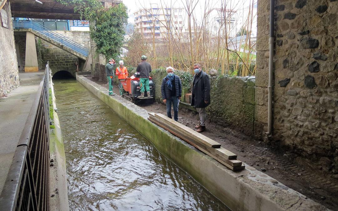 Rénovation des abords du canal Combier
