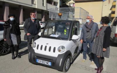 Acquisition d'un véhicule électrique pour les services communaux