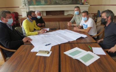 Gymnase municipal: Réunions de concertation pour le traçage au sol des terrains de jeux