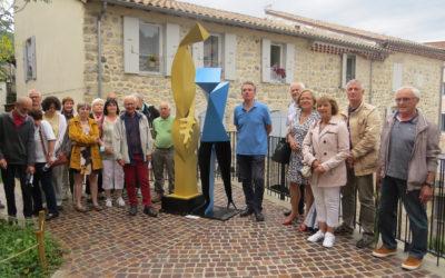 Exposition à ciel ouvert du sculpteur Christian Armandy